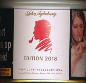 John Aylesbury limited edition 2016  Blik 100 gram